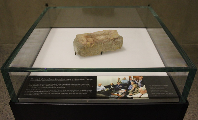 Brick from Osama bin Laden's House in Abbottabad, Pakistan