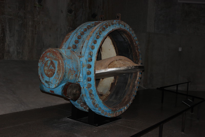 River Water Line Valve Side View