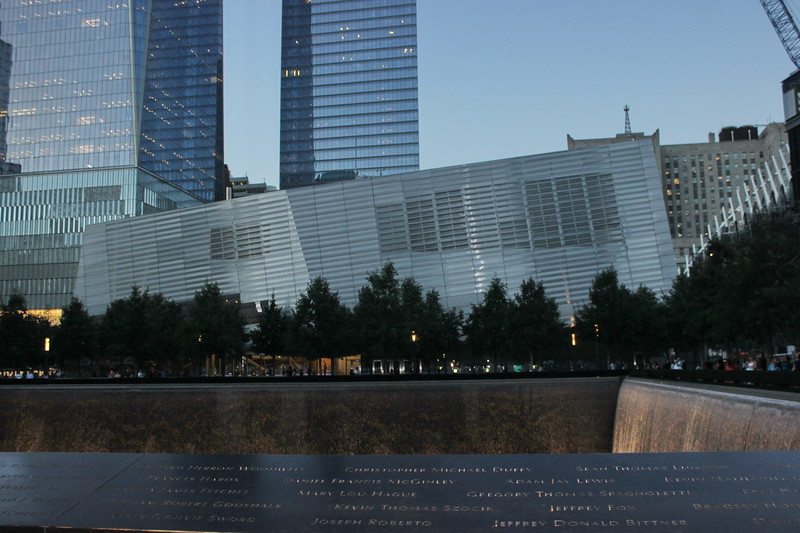 Victims' Names at the 9/11 Memorial and Museum