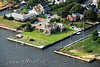 Aerial Image of Amityville, Long Island, New York