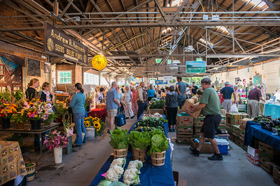 Cooperstown farmer's market on Saturday morning.