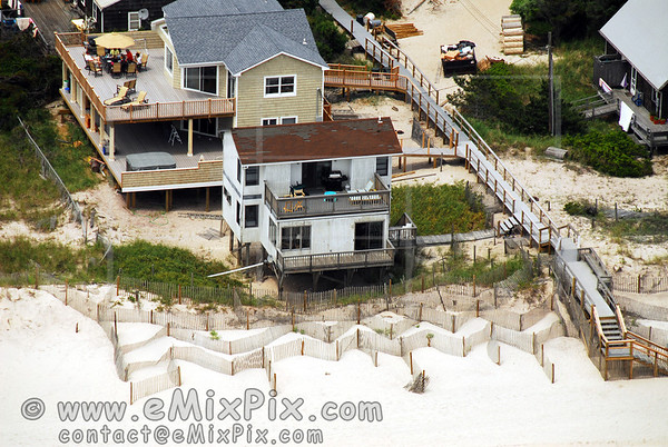 Aerial Image of Atlantique / Corneille Estates, Fire Island, Long Island, New York