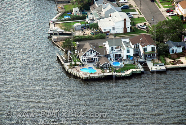 Aerial Image of Babylon, Long Island, New York
