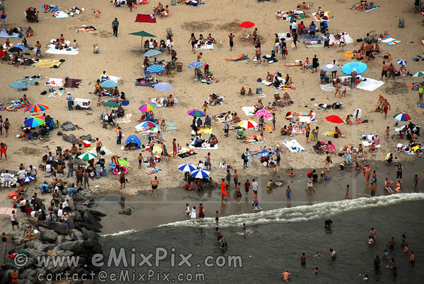 Coney Island's beach, NYC, NY, Aerial Photos - img 7 of 8.