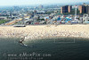 Aerial Image of CONEY ISLAND, one of New York City Beaches