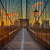 Early Morning on the Brooklyn Bridge