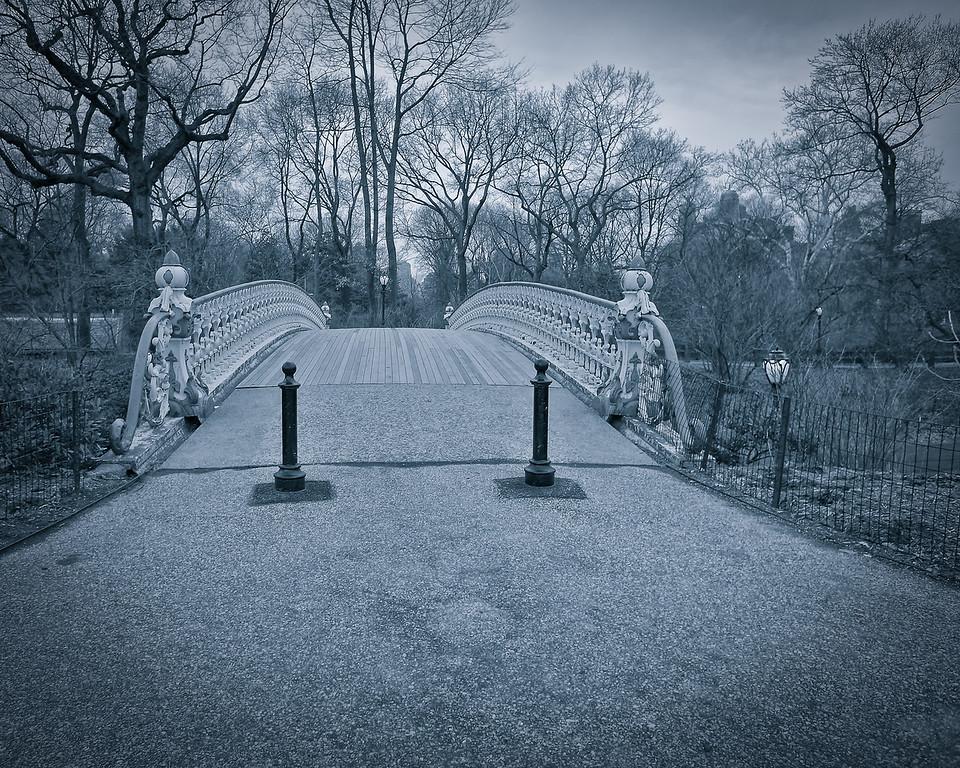 Approaching Bow Bridge
