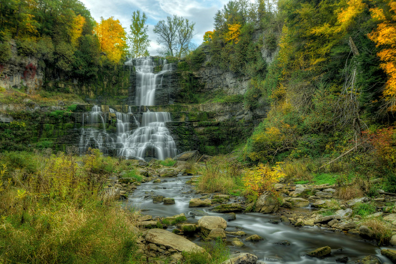 Waterfall at Chittenango Falls State Park