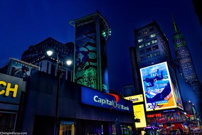 Blue-Green Manhattan