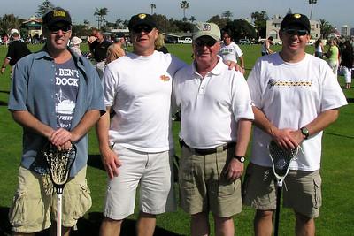 Mar05 Wantagh Warrior Lacrosse plays in San Diego Picture taken in Coronado Bill Venier WHS82, Riis, Coach Tom Oleary {retired}, Atkinson