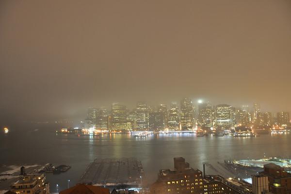 Eerie Foggy Night Feb 2013