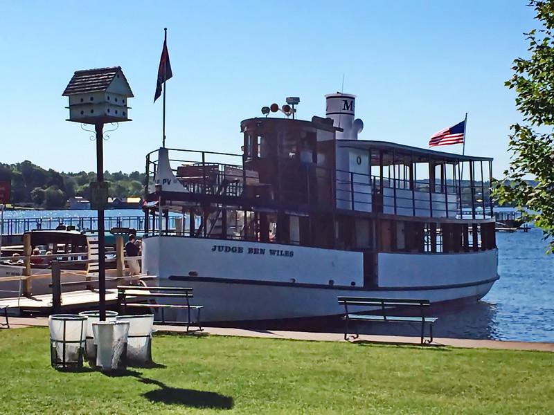 Judge Ben Wiles Tour Boat