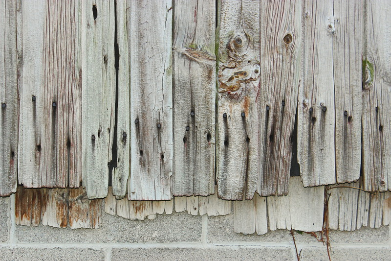 Weathered Barn Siding