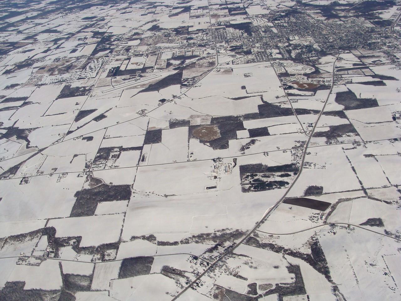 Rochester Region Farmland in Winter