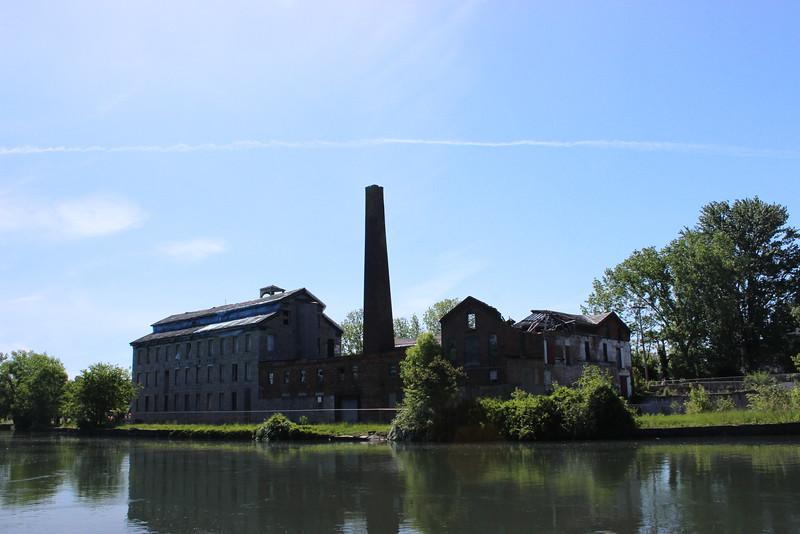 Seneca Knitting Mills on the Cayuga-Seneca Canal