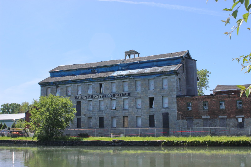 Seneca Knitting Mills on the Canal