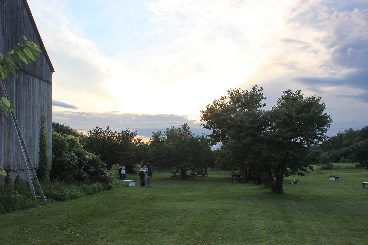 Twilight at Hurd Orchards