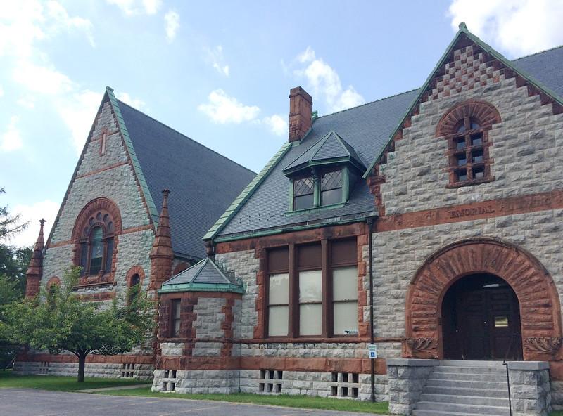 Willard Memorial Chapel in the Welch Memoriial Building