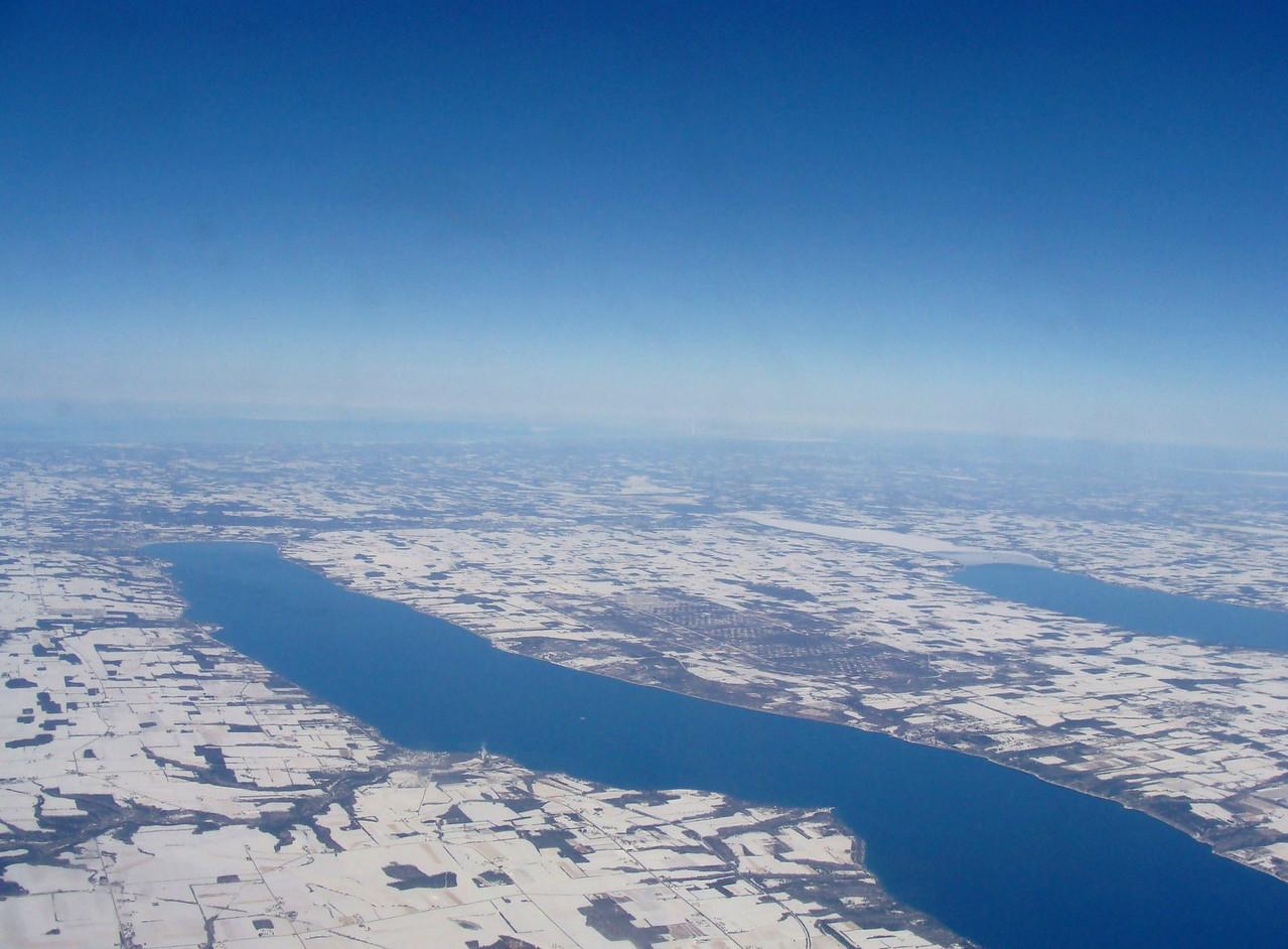 Finger Lakes in Winter