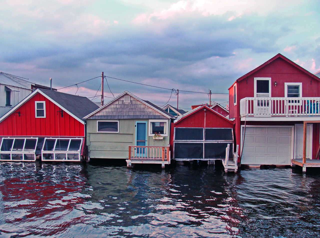 Canandaigua Lake Boat Houses