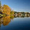Mirror Lake. Lake Placid, New York