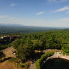 Panoramic view of from top of Smiley Tower. Mohonk Preserve, New York