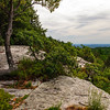 View from Cope's Lookout. Mohonk Presearve, New York