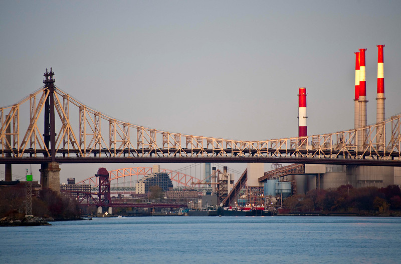 Queensborough, Roosevelt Island, Triborough, and Hellsgate Bridges