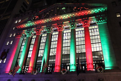 New York Stock Exchange - Christmas 2016