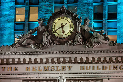 clock and gods Helmsley Building