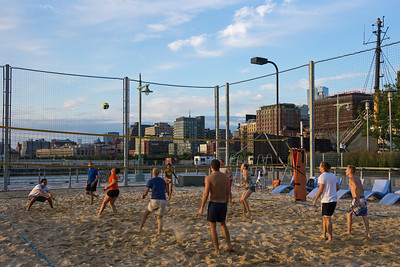 New York beach volleyball