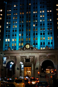 The Helmsley Building Christmas illumination