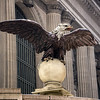 eagle on finial Grand Central Station