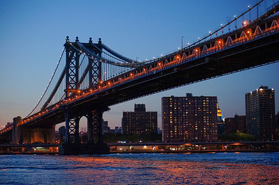 Manhattan Bridge May evening
