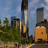 promenade to Freedom Tower under construction