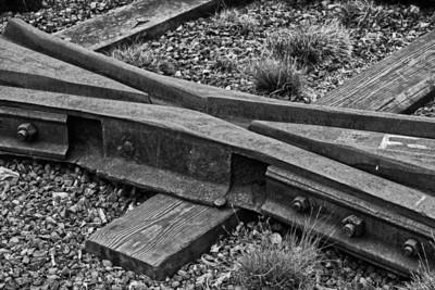 rail crossover High Line