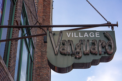 Village Vanguard sign