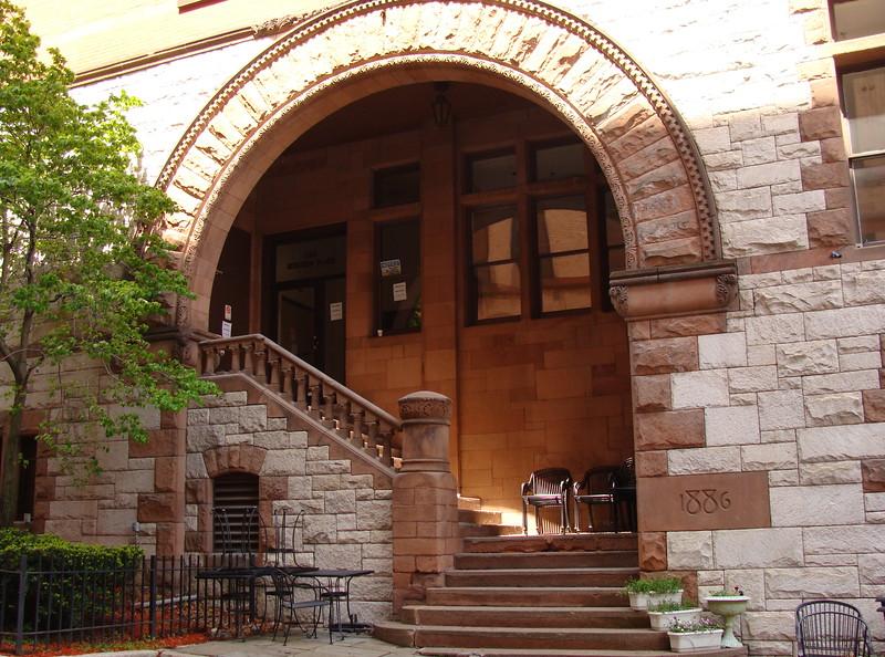 Historic Alley Entrance