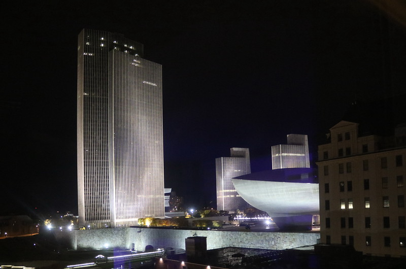 The Capital Plaza at Night