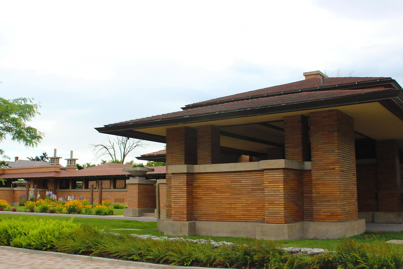 Martin House and Pergola