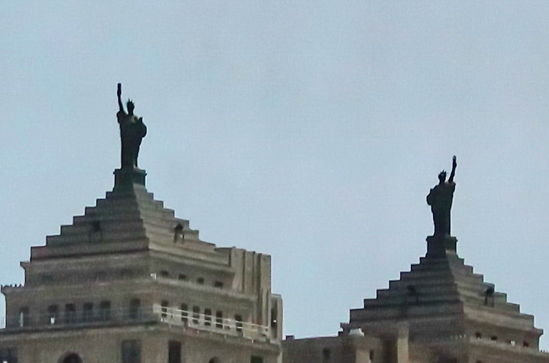 Twin Statues of Liberty