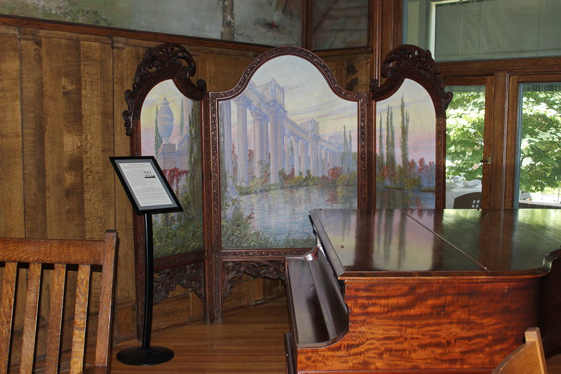 Roycroft Inn Lobby Piano