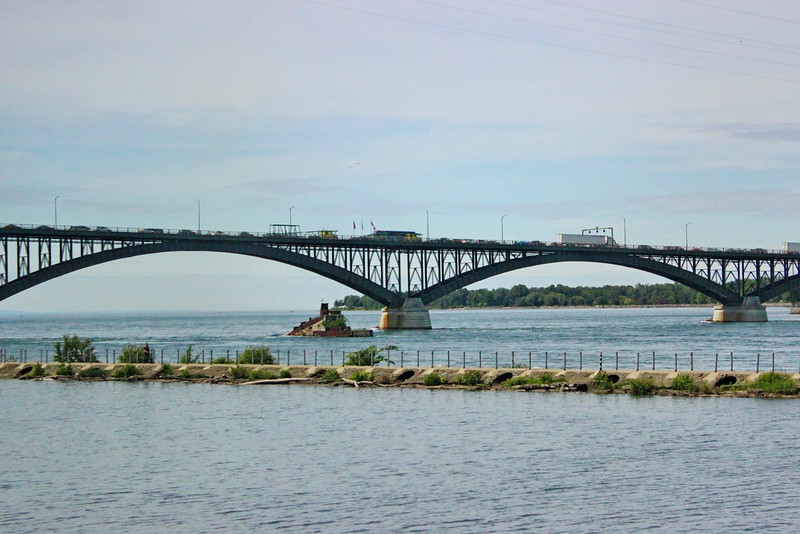 Peace Bridge between the USA and Canada