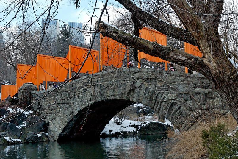 Christo in Central Park