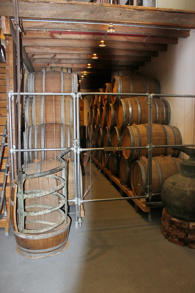 Ports of New York Winery Barrels