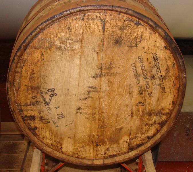 Jack Daniel Barrel