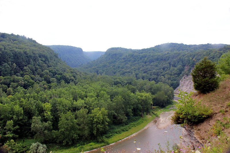 Letchworth State Park and Genesee River