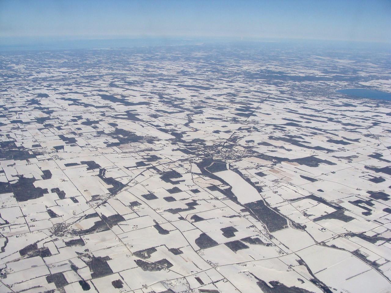Finger Lakes Farmland in Winter