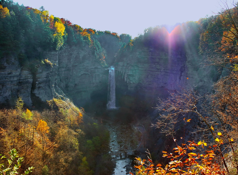 Autumn at Taughannock Falls