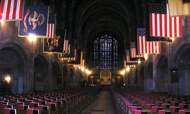 Cadet Chapel Interior